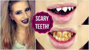diy scary halloween teeth vampire zombie u0026 cat youtube