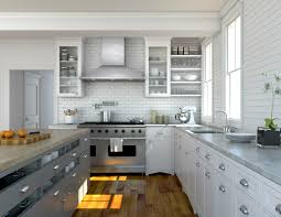 2016 30 kitchen with chimney hood on kitchen chimney island range