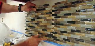 Brick Tiles For Backsplash In Kitchen by How To Install A Mosaic Tile Backsplash Today U0027s Homeowner