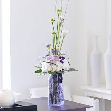 Flowers Delivered Uk - luxury flowers rose lily u0026 lisianthus vase isle of wight flowers