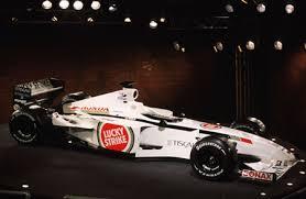 BAR (British American Racing), equipe historica de Formula 1 de 2002 - fedef1.com