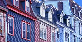 Domestic Violence Couples Counseling  DV Safety Case Stories Brightly colored row houses
