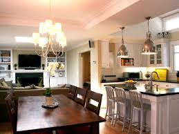 Interior Design Ideas For Open Floor Plan by Kitchen And Dining Room Open Floor Plan Home Design Ideas With