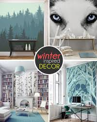 wall murals decals sports themed interiors 10 breathtaking wall murals for winter time