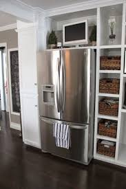 best 25 tv in kitchen ideas on pinterest a tv built in