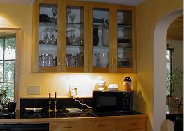 Kitchen Cabinets Inside Kitchen Kitchen Cabinets With Glass Doors Ideas Glass Door Inside