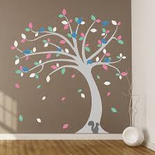Bedroom Wall Decals Trees Childrens Wall Decals Tree Color The Walls Of Your House