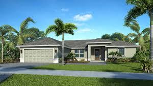 the eva southwest florida contemporary custom home floorplan
