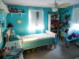 Modern Room Nuance Cool Blue Nuance Of Bohemian Themed Bedroom Which Is Equipped With