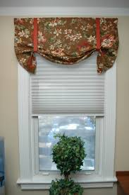 diy no sew elegant window valance