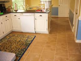 Painted Kitchen Floor Ideas Interior Amazing Charming Yellow Fabric Carpet Tile Ideas With L