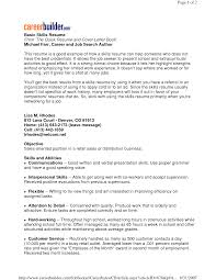 sample resume simple basic resumes examples free resume example and writing download find here the sample resume that best fits your profile in order to get ahead the