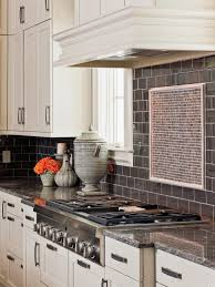 kitchen kitchen backsplash glass backsplash home depot black