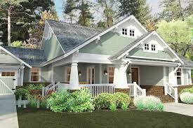 plan 16887wg 3 bedroom house plan with swing porch craftsman