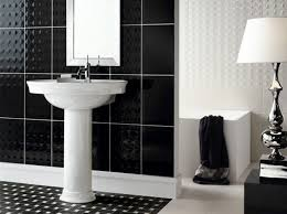 Black And White Small Bathroom Ideas 116 Best Bathroom Tile Ideas Images On Pinterest Bathroom Tiling