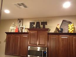 Molding On Kitchen Cabinets Best 25 Above Cabinets Ideas On Pinterest Above Kitchen