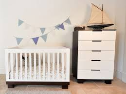 Shermag Capri Convertible Crib by Modern Baby Room Decor With Black Cribs Decorated Green Tapes