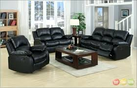Livingroom Liverpool Black Leather Sofa Set U2013 Anis Tchadhouse Com