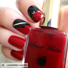 lacquered lawyer nail art blog disney