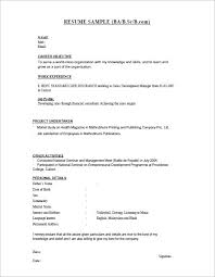 Best It Resume Sample by 28 Resume Templates For Freshers Free Samples Examples