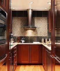 Kitchen  Backsplash Ideas With Dark Cabinets Tv Above Fireplace - Kitchen backsplash ideas dark cherry cabinets