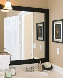 amazing framed bathroom mirrors in interior decorating ideas with