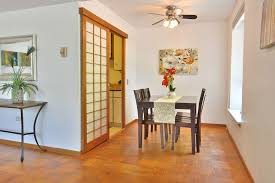 Dining Room Ceiling Fan by Asian Dining Room With Hardwood Floors U0026 Ceiling Fan In Seattle