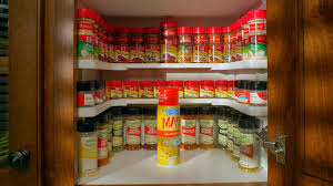 Best Spice Racks For Kitchen Cabinets Amazon Com Spicy Shelf Patented Spice Rack And Stackable