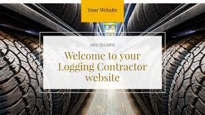 logging contractor website templates godaddy