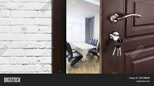 Office Door Design Half Opened Door Cabinet Office Image U0026 Photo Bigstock