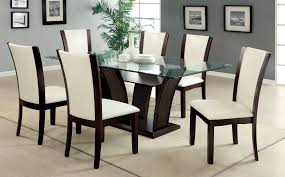 dining likable furniture dining room design with rectangle glass