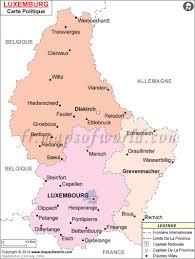 Luxembourg Map Carte Du Luxembourg Mapsinfrench Cartedumonde Carte Du