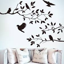compare prices on fly decals online shopping buy low price fly drop shipping black bird tree branch wall sticker wall quote decal removable art home mural decor