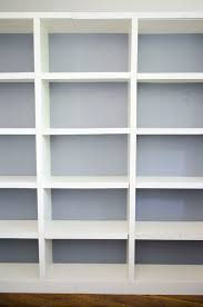Ikea Bookshelves Built In by Upgrading My Ikea Bookshelves Thou Swell