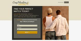 Screenshot of GayMuslimDating     s homepage DatingAdvice com