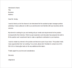 Thank You Letter After Phone Interview   cover letter for sales position