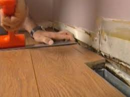 Laminate Flooring No Transitions How To Finish Installing Laminate Flooring How Tos Diy