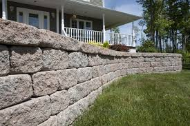 Stone Cladding For Garden Walls by Garden Edge Wall High Performance Concrete Linear Tumbled