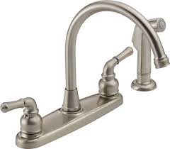 kitchen bar faucets delta touch kitchen faucet repair combined delta touch kitchen faucet repair combined kitchen satin nickel finish also what color goes with stainless steel sink plus delta two handle installation as