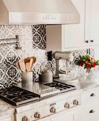 White Tile Kitchen Backsplash Best Ideas About White Tiles Black Gallery Including And Tile