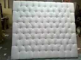 King Headboard Bedroom Endearing Tufted King Headboard For King Bed Size