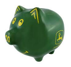 John Deere Kids Room Decor by Amazon Com John Deere Piggy Bank Toys U0026 Games