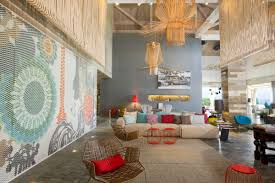 colorful exuberant interior design inspiration from w retreat
