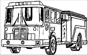 25 fire truck coloring pages coloringstar