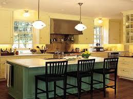 Kitchen Breakfast Bar Design Ideas Romantic Kitchen Island Designs With Mini Bar And Hanging Lamp
