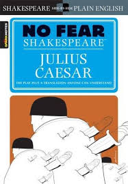 Julius Caesar by William Shakespeare  Act I simile   quot Why man  he doth bestride the narrow world   Like a Colossus  and we petty men   Walk under his huge
