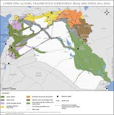 Iraq Syria Map by Competing Actors Fragmented Territories Iraq And Syria Nov 2016