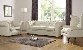 Chesterfield Sofa Leather by Living Room Chesterfield Sofa Leather Decoration Livingroom