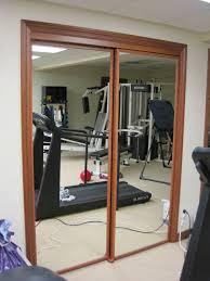 Closet Door Ideas Diy by Mirrored Sliding Closet Doors Our Own Diy Mirrored Barn Closet