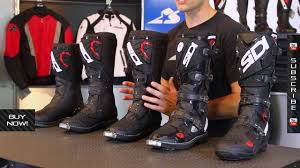 motorcycle bike shoe sidi off road boot guide from motorcycle superstore com youtube